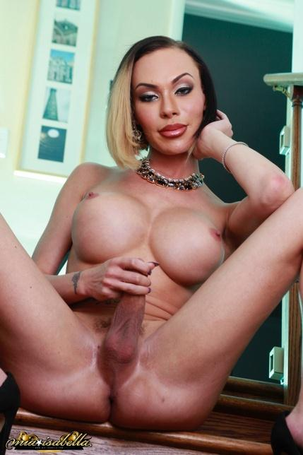 Mia Isabella - Jacking Off on the Steps - Mia-Isabella.com (HD, 720p)
