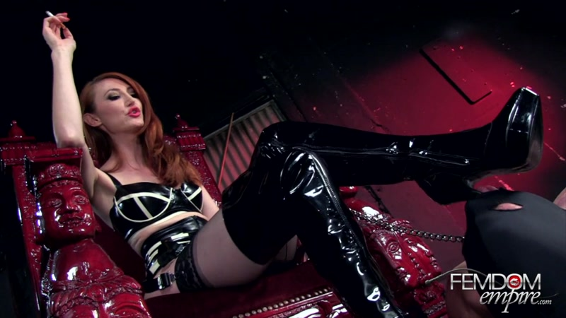 FemdomEmpire.com: Demoted Boot Licker [HD] (245 MB)
