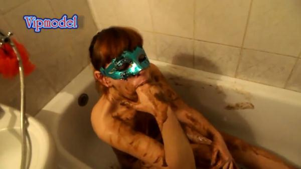 I accept the dirty bathroom part 2 - Extreme Solo Scat - Fboom Scat (FullHD, 1080p)