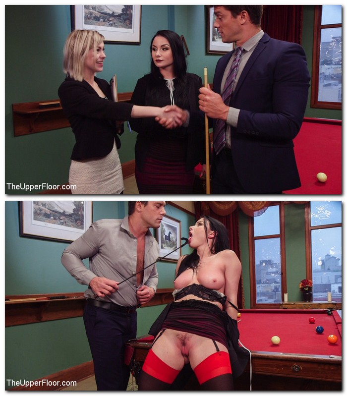 TheUpperFloor/Kink: Anna Tyler,Veruca James - Submissive Secretary Anal Trained By Jealous Wife  [HD 720p]  (BDSM)