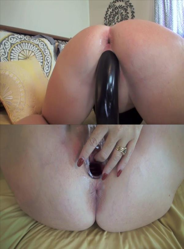 Giant dildo penetrations: Amateur - Sicflics 736p