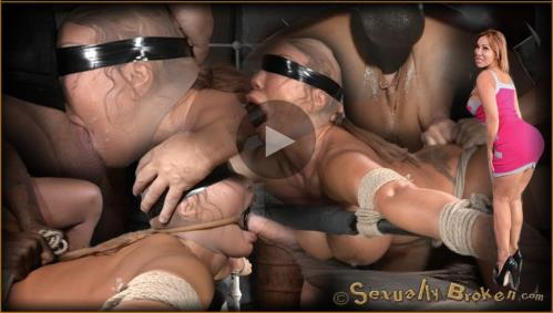 Giant titted MILF Ava Devine blindfolded bound and fucked roughly by 2 cocks, filled and creampied! - Ava Devine, Matt Williams, Jack Hammer (SiteRip/SexuallyBroken/HD720p)