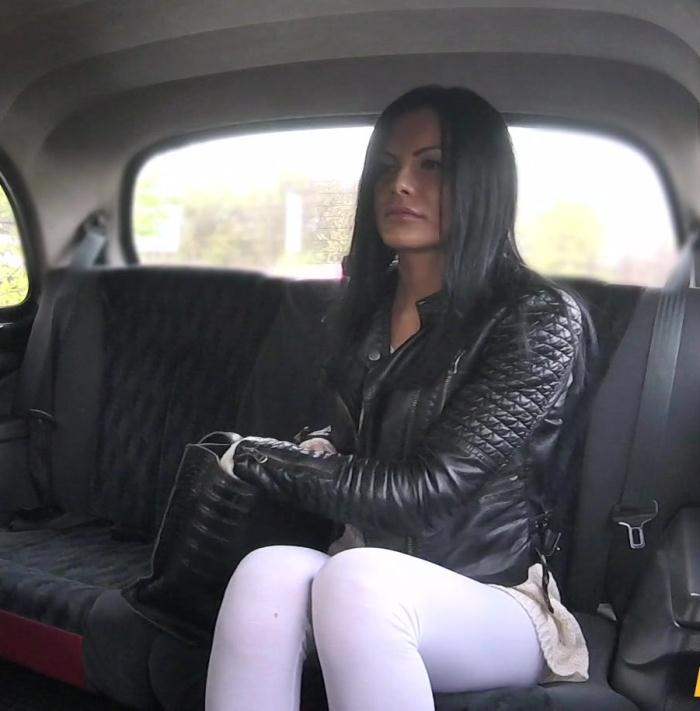FakeTaxi - Amanda Black - Hot sexy MILF rides big cock [HD 720p]