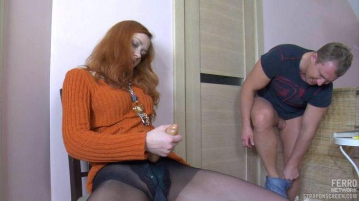 Ass fucking by russian mistress (LadiesFuckGents, FerroNetwork) HD 720p