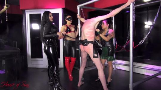 Houseofsinn: Mistresses Ezada Sinn, Saint Lawrence and Gaia - Vicious Goddesses Of Pain (FullHD/1080p/441 MB) 10.01.2017