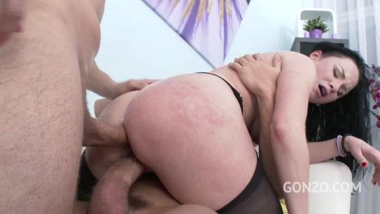 L3g4lP0rn0: Veruca James welcome to Gonzo! brutal 3on1 DP for American PAWG SZ1626 (SD/480p/989 MB) 26.01.2017