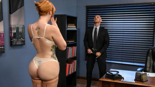 BigTitsAtWork: Lauren Phillips - The New Girl: Part 1 (SD/480p/279 MB) 11.01.2017