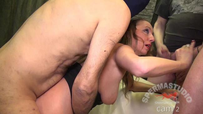 Sexy Natalie sperm dip Cam 2 - Sexy Natalie - Sperma-Studio.com