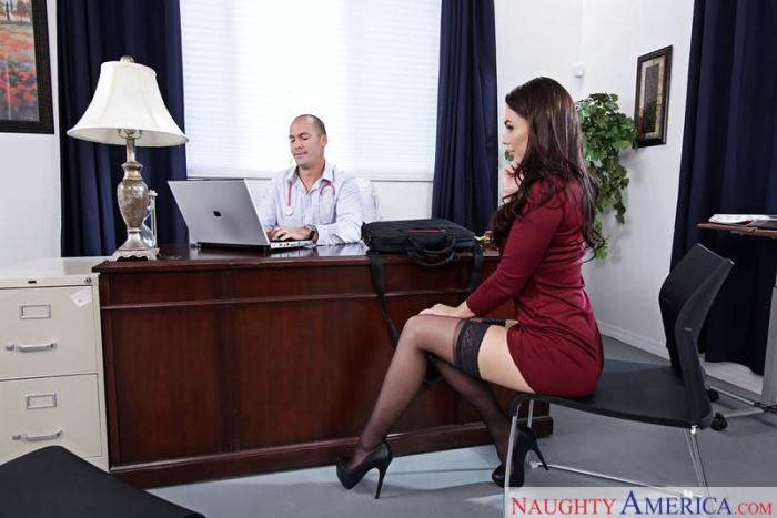 Aidra Fox - Sex in Office / 16-01-2017 [SD/360p/MP4/214 MB] by XnotX