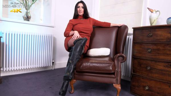 (MissHybrid | FullHD) Miss Hybrid - Talking Dirty In Thigh Boots (179 MB/2017)