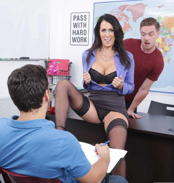 MyFirstSexTeacher/Naughtyamerica: Reagan Foxx - My First Sex Teacher  [HD 720p]  (Milf)