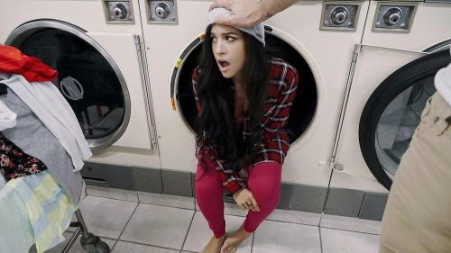 PervsOnPatrol.com / Mofos.com [Annika Eve - Latina Gets Facial In Laundromat] SD, 480p