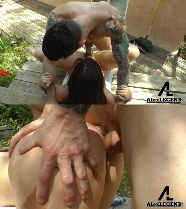 Jodi Taylor - Fucks The Gardner In The Backyard (AlexLegend) [FullHD 1080p]
