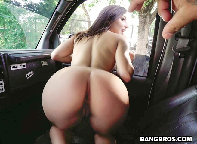 Abella Danger on The Bus / 26 Jan 2017 [BangBus, BangBros / SD]