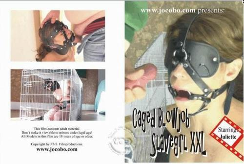 Caged Blowjob Slave Girl XXL (16.01.2017/Juliette Captured And In Distress/FullHD/1080p)
