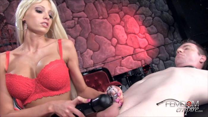 Rikki Six - Chastity Cum-Job (FemdomEmpire) HD 720p