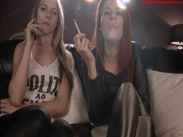 Chloe Toy, Tiffant Naylor - Mistress Chloe Toy and Mistress Tiffant Naylor harsh smoking verbal domination (Hardglam) [FullHD 1080p]