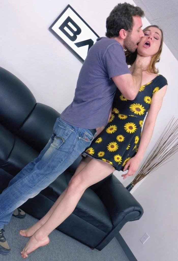 Kasey Warner - Kasey Warner Gags Herself For Her Audiiton Video  [SD 486p]