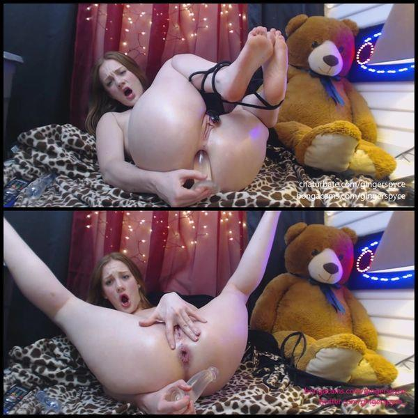 Gingersypce ANAL Domination Hour Live pt1 [720p]