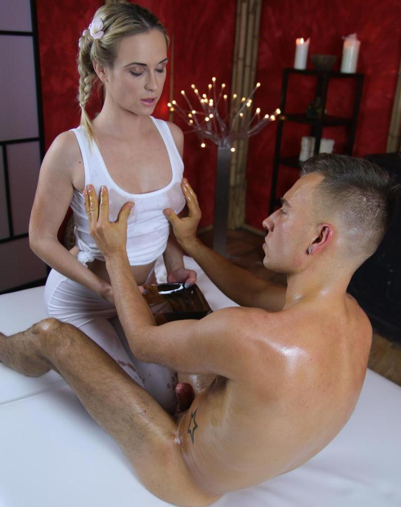 MassageRooms - Cristin Caitlin [Hot cum all over blondes tight ass] (HD 720p)