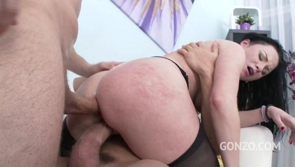 Veruca James welcome to Gonzo! brutal 3on1 DP for American PAWG SZ1626 - L3g4lP0rn0.com (SD, 480p)