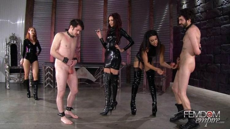 Mistress Pain Party - Kendra James, Sablique Von Lux, Goddess Tangent / 15 Feb 2017 [FemdomEmpire / FullHD]