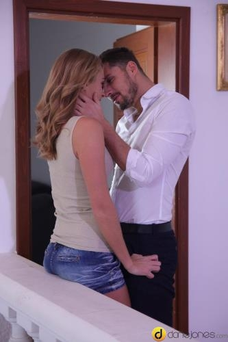 DaneJones.com / SexyHub.com [Ivana Sugar - Young lovers hot fuck on the stairs] SD, 480p