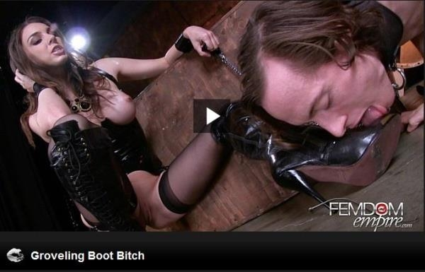 FE - Tiffany Tyler - Groveling Boot Bitch [HD, 720p]