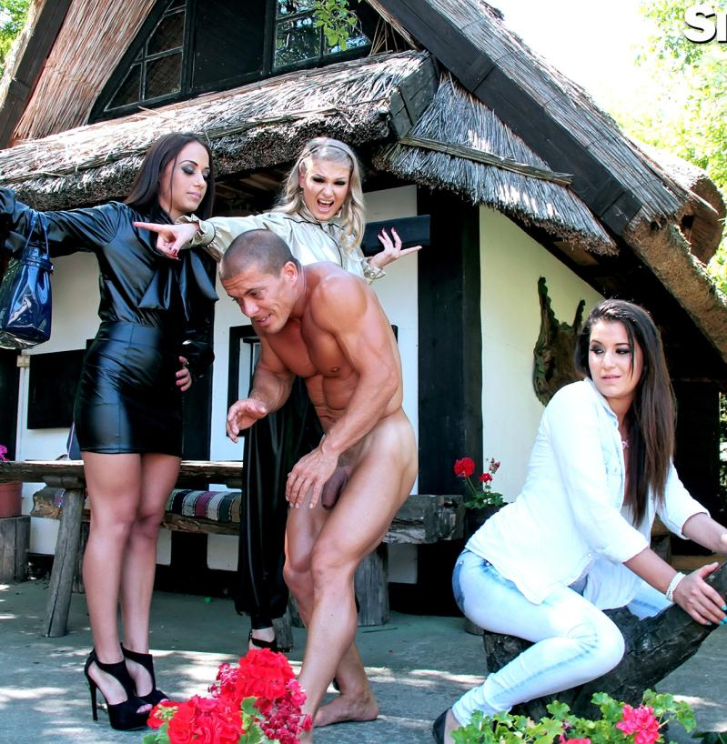 Leatherchronicle/SinDrive - Lucy Heart,  Cindy Loarn,  Nomi Melone  [This Is For The Kinkster In You: 2 Leather Beauties and A Denim Damsel - Attacking Asses With Fingers and Tongues] (HD 720p)