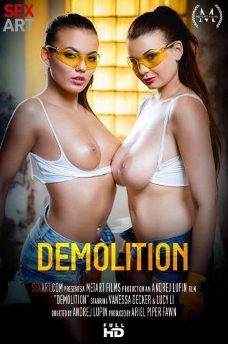 SexArt.com / MetArt.com [Lucy Li & Vanessa Decker - Demolition] FullHD, 1080p