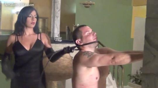 Femdom-Elite.com [Punished her slave] HD, 720p