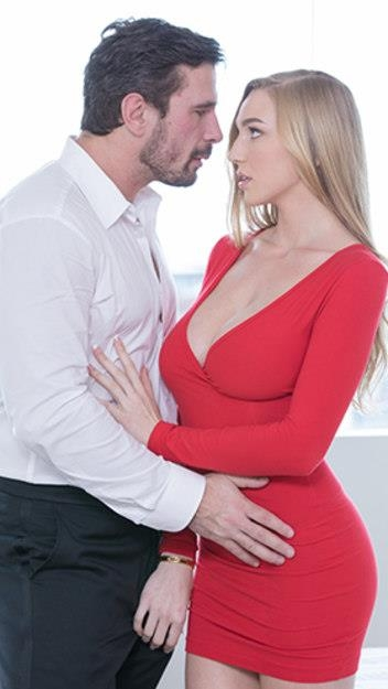 (Pussy Licking / MP4) Kendra Sunderland - Sex With My Boss Vixen.com - SD 480p