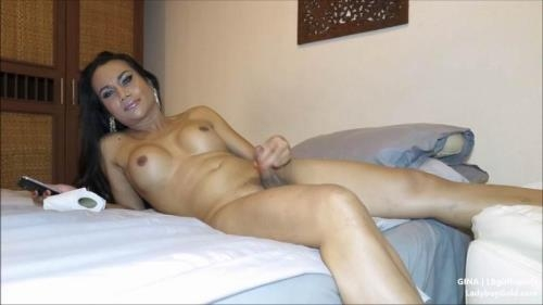 LBGirlFriends.com / LadyBoy.com [Gina - 29yr old Interview & Masturbation] FullHD, 1080p