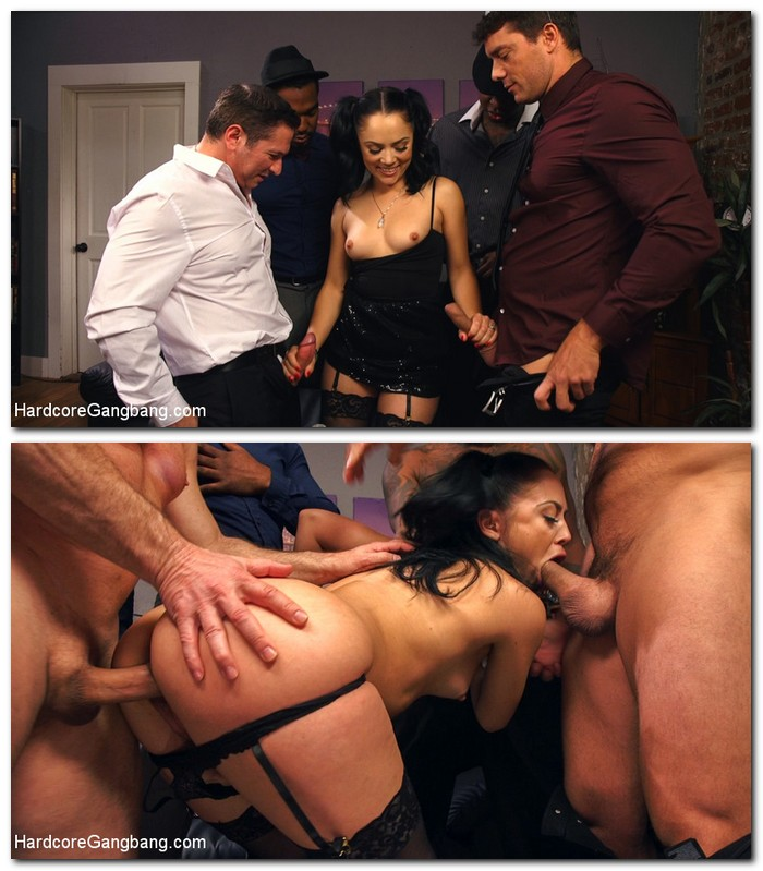 HardcoreGangBang/Kink - Kristina Rose - Cheating Wife Caught And Punished by 5 Cocks  [SD  540p]