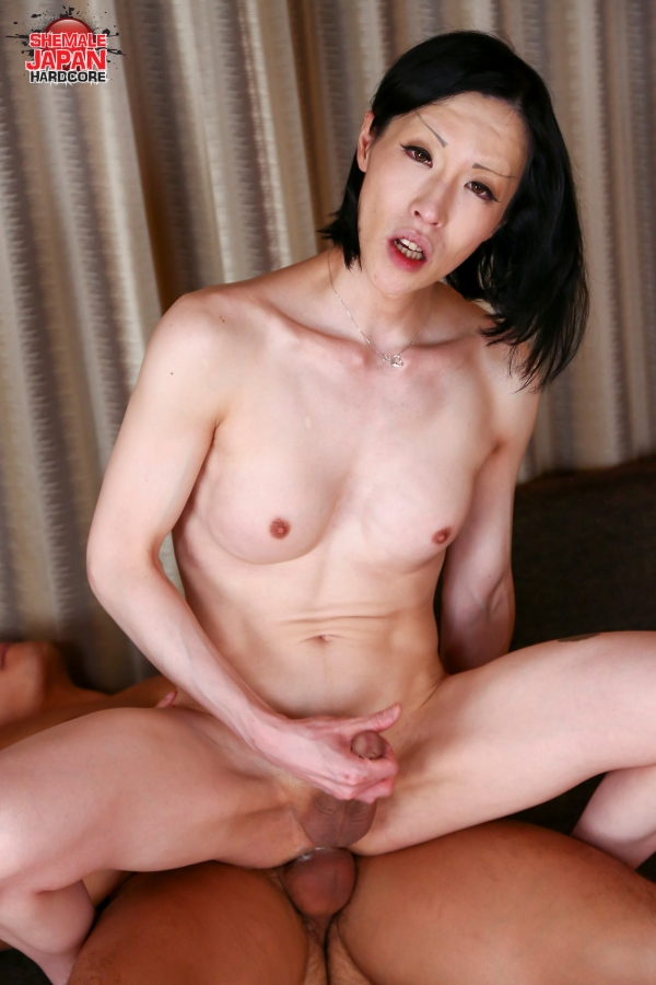 ShemaleJapanHardcore.com - Renka - Renka's Ass Pounded The Hard Way! [HD 720p]