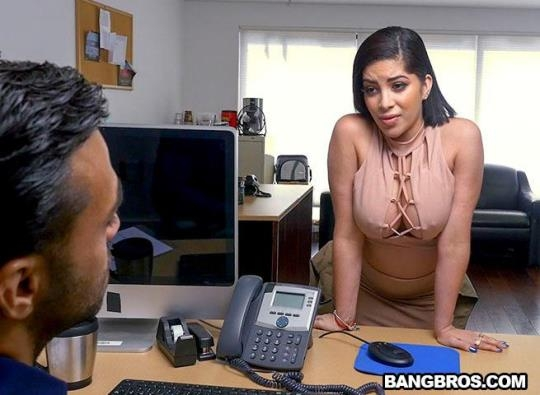 BangBrosClips, BangBros: Kitty Caprice - Kitty fucks hard for her job (SD/480p/288 MB) 20.02.2017