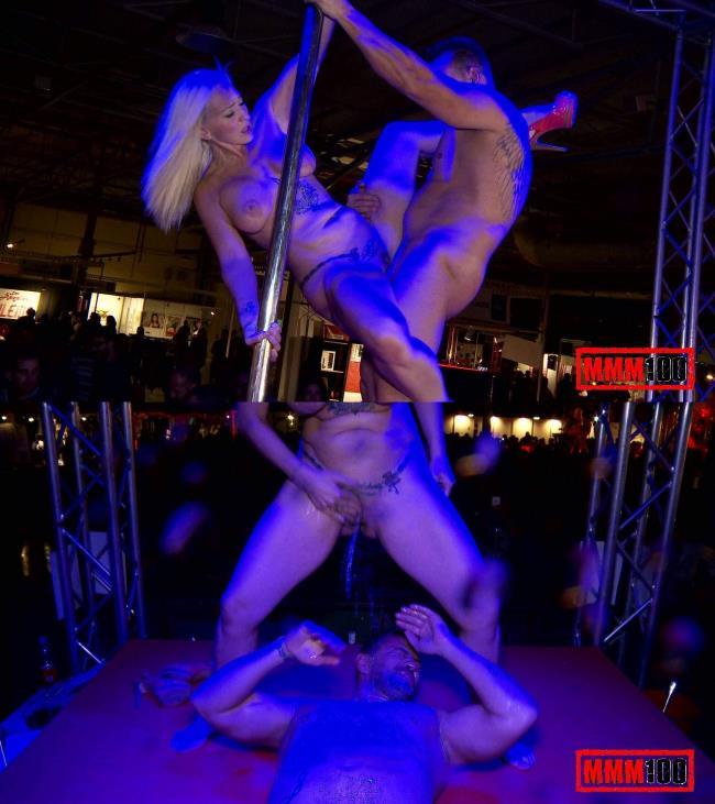 Public sex and impressive squirt in a spanish fair - Daniela Evans - MMM100.com