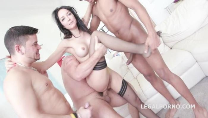 LegalPorno.com - 7on1 Double Anal GangBang with Francys Belle /See Description for More Info/ GIO314 [SD, 480p]