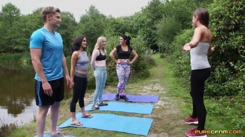 Emma Leigh, Lola Rae, Satine Spark, Tina Kay - Outdoor Yoga [FullHD, 1080p] [PureCFNM.com]