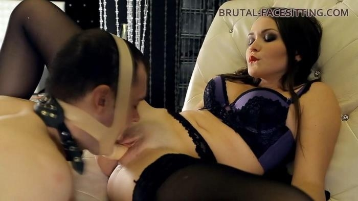 Brutal-Facesitting.com - Mistress Charlotte - Stockings Bitch 2 [, ]