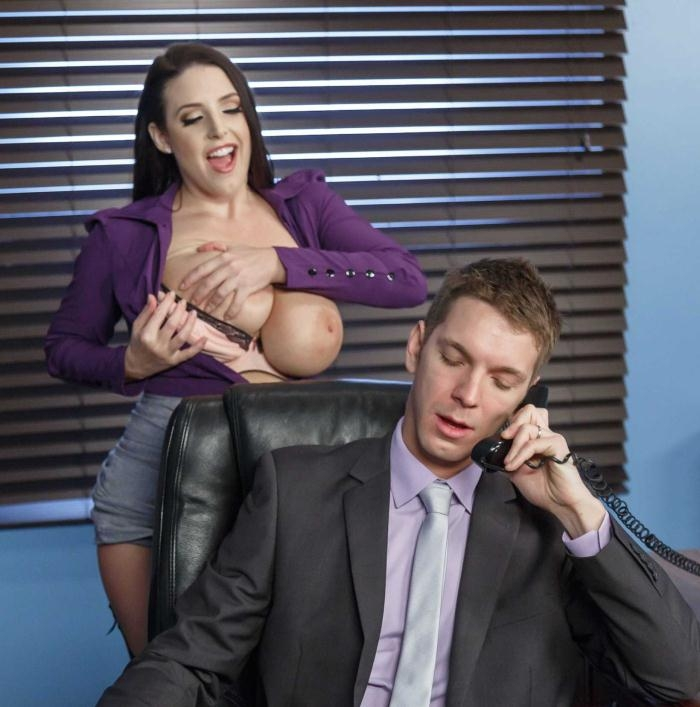 Angela White - My Slutty Secretary  [HD 720p] BigTitsatWork