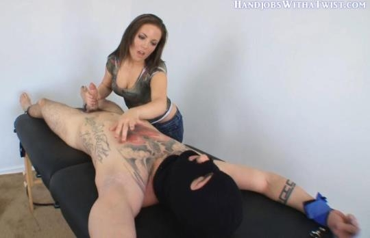 Handjobswithatwist, Clips4sale: Jerked, Nipple Teased & Forced To Cum (HD/720p/140 MB) 15.02.2017