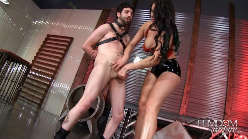 (CBT / MP4) Jasmine Mendez - Amazon Legs Destroy Tiny Balls FemdomEmpire.com - FullHD 1080p