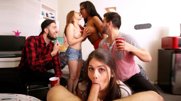 Marina Woods, Daya Knight, Hayden Hennessy - So Busted [SD/432p/403 MB]