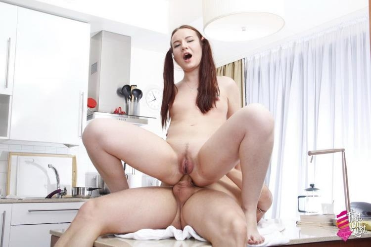 Kerry Levine - 432 - Anal with Young Russian / 06.02.2017 [FirstAnalQuest / SD]