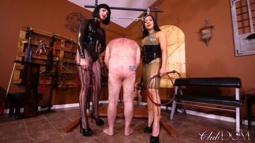 ClubDom.com [Goddess Cheyenne & Jean Bardot Whipping POV] FullHD, 1080p