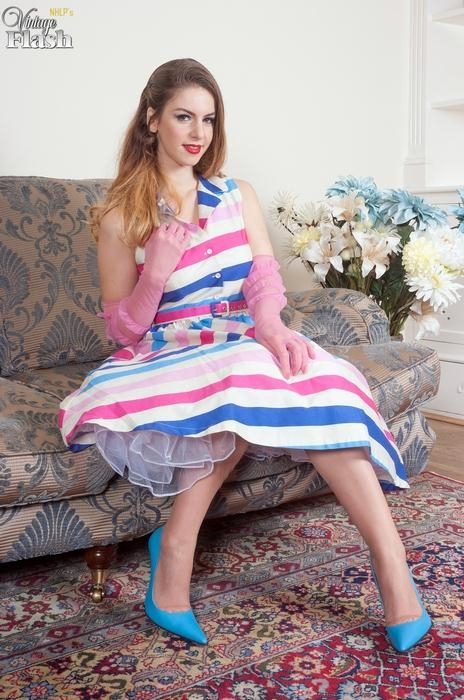 Stella Cox - Party frock teaser! (VintageFlash) FullHD 1080p