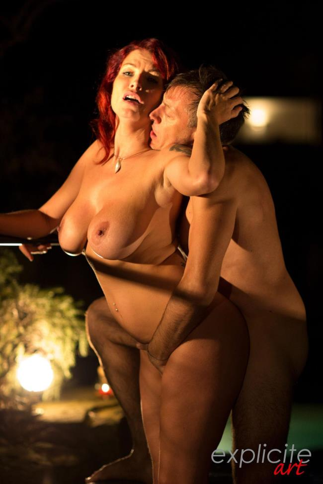 Explicite-Art: Julie Valmont - The long version video of busty Julie Valmont and Francesco in jacuzzi (HD/2017)