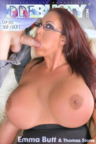 DDFBusty.com / DDFNetwork.com [Emma Butt - Alluring Psychologist: Her Massive Tits Make Client Cum!] SD, 360p