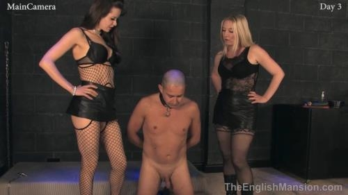 TheEnglishMansion.com [Real-Time Footage 24/7 Slavery - Day 3] HD, 720p